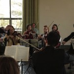 The Sinfonietta performs at Wave Hill